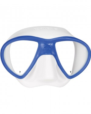 Mask X-FREE Blue/White