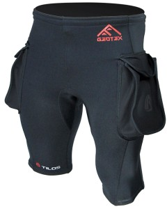 Neoprene Shorts with Pockets