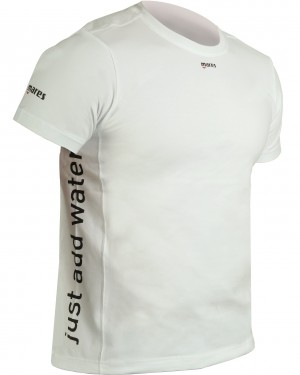 T Shirt Short Sleeve L White