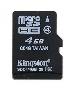 Kingston Memory Card 4 G