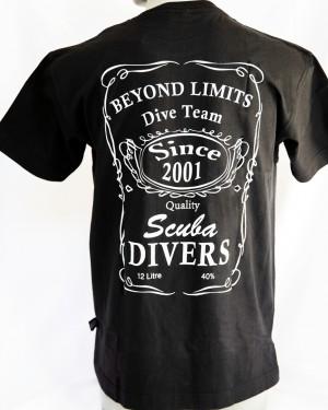 Scuba Divers Black
