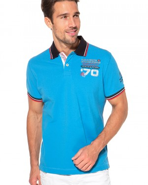 Polo int. d.t Blue Wave (Men)
