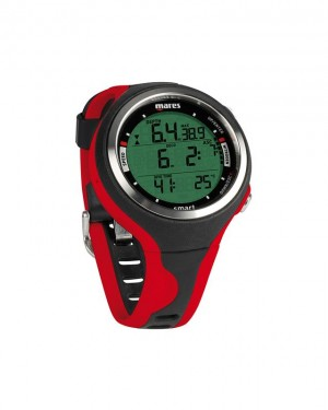 Smart Dive Comp. Red/Blk